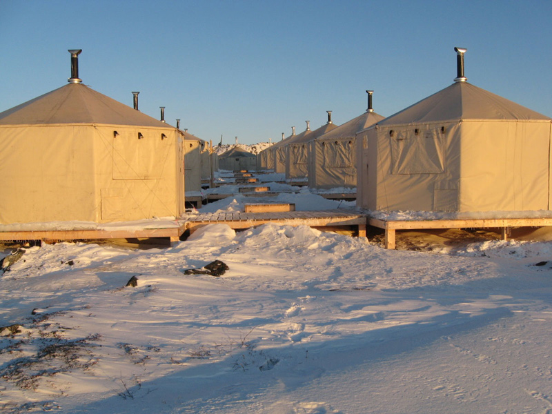 Arctic Mineral Exploration Camp