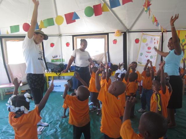 Post Disaster Kindergarten in Haiti