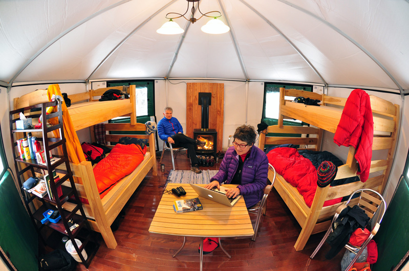 MacGregor Point Provincial Park PLH18 Yurt Interior View