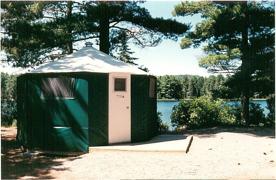 Yurt Application, Algonquin Provincial Park
