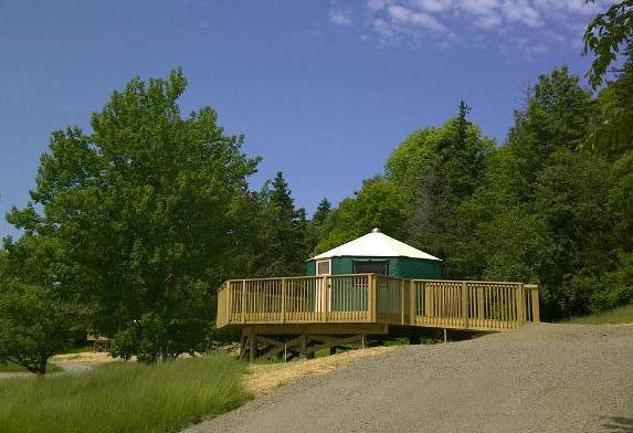 Nova Scotia Provincial Park Design Shelter Yurt Application