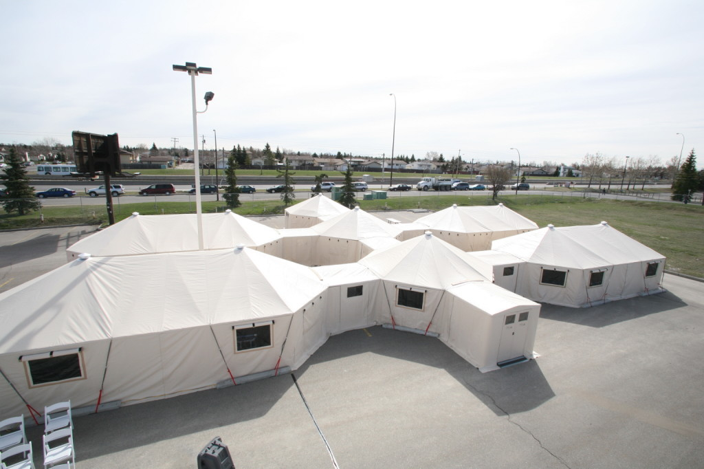 Interconnected Shelter Complex