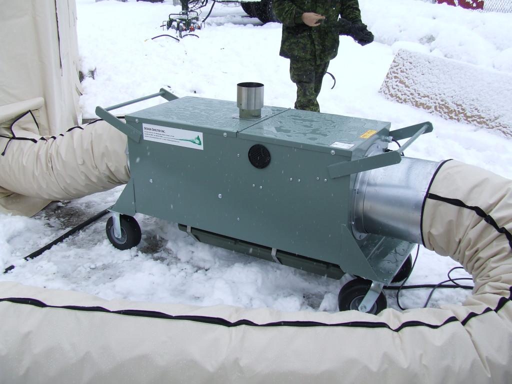 Convector Diesel Air Heater