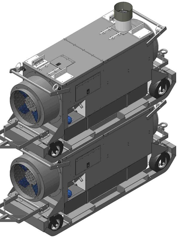 Stackable Convector Heaters
