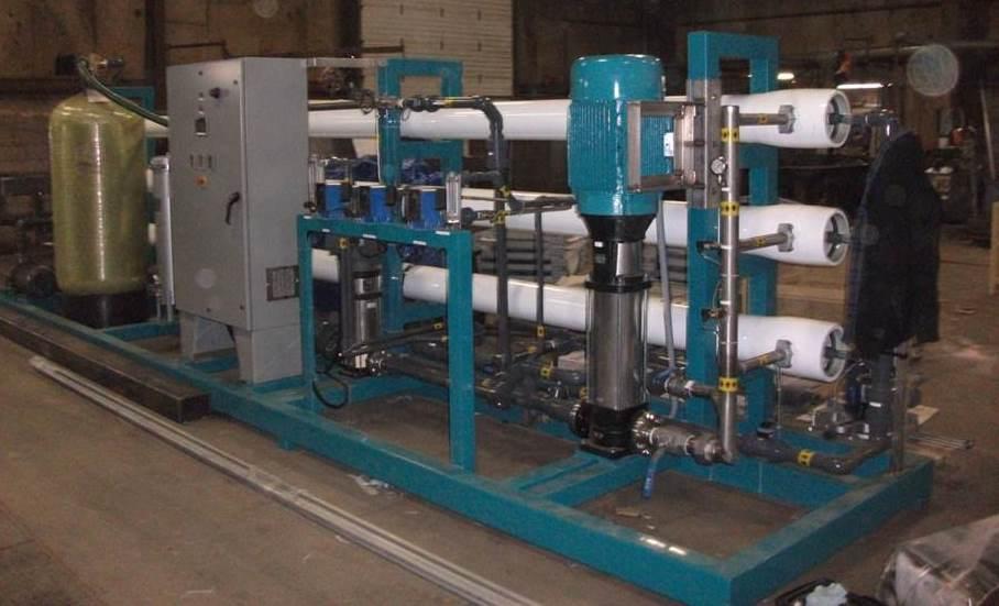 Representative Potable Water Plant Hardware