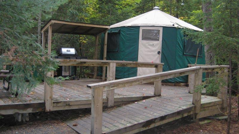 MacGregor Point Provincial Park Ger Style Shelter