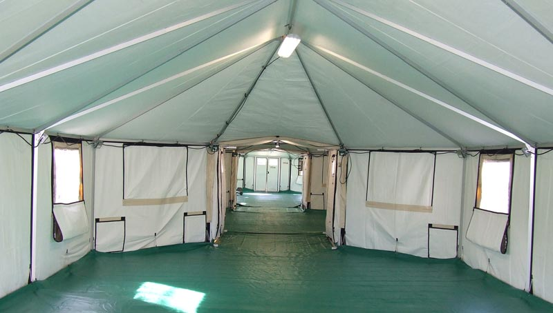Thermal Insulation - Interior View Of Interconnected Shelter Complex
