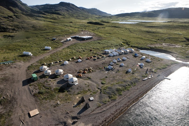 Base Camp Comfort in Torngat Mountains National Park